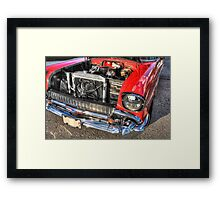 Whole Lotta Engine Framed Print