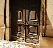 Old Door of Lisbon by Lucinda Walter