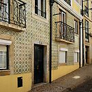 Tile Walls of Lisbon by Lucinda Walter