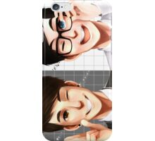 Dan & Phil - Black & White iPhone Case/Skin