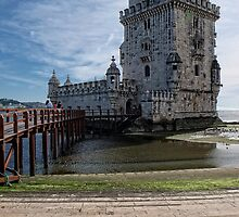 The Belem Tower by Lucinda Walter