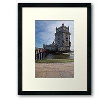 The Belem Tower Framed Print