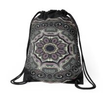 Wild Berry Blush Drawstring Bag