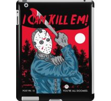 I Can Kill Em! iPad Case/Skin