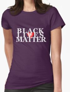 Black Lives Matter 2 Womens Fitted T-Shirt