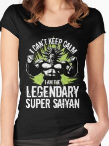 super saiyan broly shirt - RB00004 Women's Fitted Scoop T-Shirt