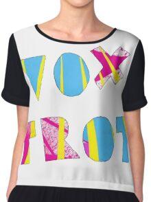 Voxtrot Logo Chiffon Top