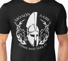 molon labe come and take it Unisex T-Shirt