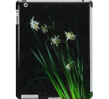 Narcissus in the woods iPad Case/Skin