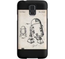Star Wars R2D2 Droid US Patent Art Samsung Galaxy Case/Skin