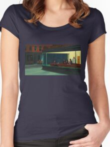 Night Gilmores Women's Fitted Scoop T-Shirt