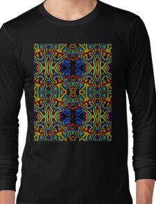 Tribal Visions Psychedelic Abstract Pattern 1 Long Sleeve T-Shirt