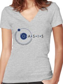 Oasis Women's Fitted V-Neck T-Shirt