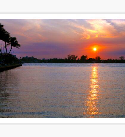 Inlet Sunsetting Sticker