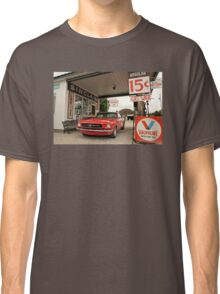 Gas Station Mustang Classic T-Shirt