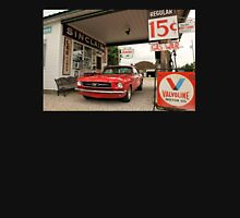 Gas Station Mustang Unisex T-Shirt