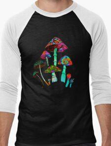 "Garden of Shroomz | ""Field Trip"" Edition Men's Baseball ¾ T-Shirt"