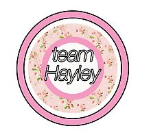 Team Hayley by Lucie Jayne Bates