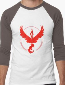 pokemon go team valor Men's Baseball ¾ T-Shirt