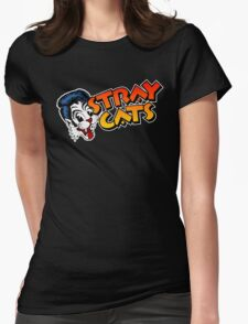 STRAY CATS ROCKABILLY Womens Fitted T-Shirt