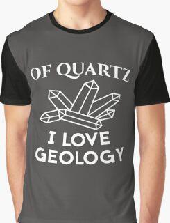 Of Quartz Funny Science Graphic T-Shirt
