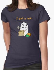 I got a rock. Womens Fitted T-Shirt