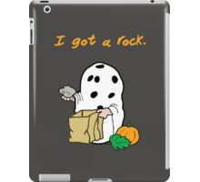 I got a rock. iPad Case/Skin