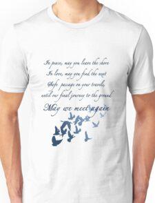 The Traveler's Blessing (May We Meet Again) Unisex T-Shirt