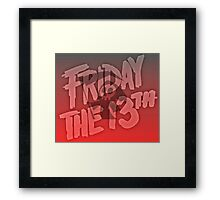 Grim Reaper Friday The 13th Framed Print