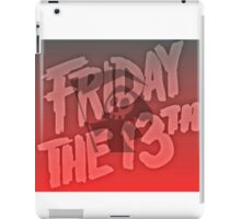 Grim Reaper Friday The 13th iPad Case/Skin