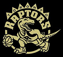 Gold Toronto Raptors Drake Night by ed73
