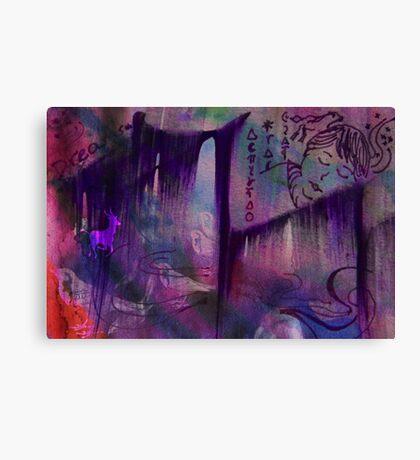 Purple Forest Dreams Canvas Print