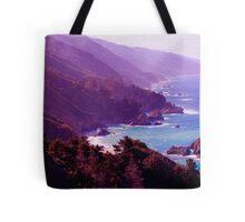 Big Sur Print 2 Tote Bag