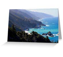 Big Sur Print 1 Greeting Card