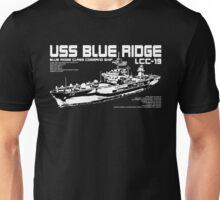 USS Blue Ridge (LCC-19) Unisex T-Shirt