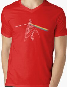 Dark Side of the Hill Mens V-Neck T-Shirt