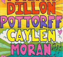 O2L 6/6 FOREVER HAND DRAWN NAMES by pottorff