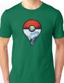 Pokemon Go Locations  Unisex T-Shirt