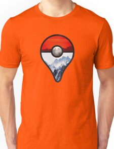 Pokemon Go Locations  Unisex T-Shirt