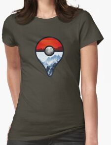Pokemon Go Locations  Womens Fitted T-Shirt