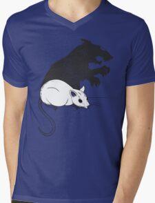 The Strange Case of Dr. Mouse and Mr. Rat Mens V-Neck T-Shirt