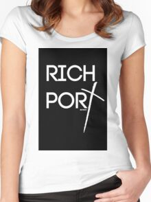 RICH PORT BY REVISION ™ Women's Fitted Scoop T-Shirt