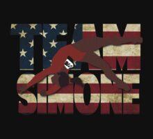Team Simone Biles - USA Kids Tee