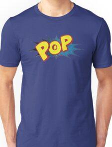 """Pop"" Logo by American Jank Unisex T-Shirt"