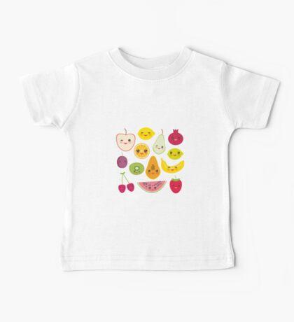 Fruit Pattern Baby Tee