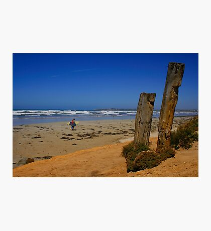 An Australian Surfing Beach Photographic Print