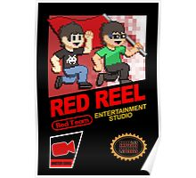 Red Reel - Retro NES Poster