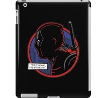 Dick Merc iPad Case/Skin
