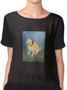 The Babushka Dog Chiffon Top