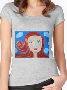 Girl Red Women's Fitted Scoop T-Shirt